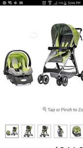 Evenflo carseat and stroller combo