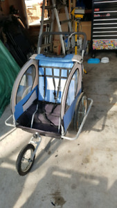 Bicycle stroller/trailer/chariot