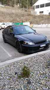 2000 Honda Civic SiR  Trade for jeep or chevy. Williams Lake Cariboo Area image 6