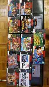 Super nintendo + games - ps1 with box plus crash the game