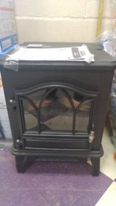Electric Stove with Infrared Quartz Heater