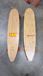 2 long Boards Bahne