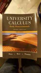 University Calculus Early Transcendentals 3rd Edition, paperback