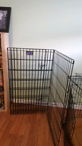 Exercise pen for large dog
