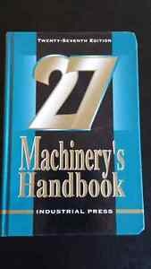 27th edition Machinery's Handbook