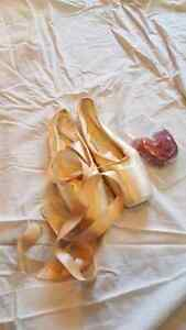 New pointe shoes (ballet)