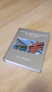 Statics And Mechanics Of Materials 2nd Edition by R.C. Hibbeler