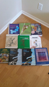 Massage Therapy and Nursing Textbooks