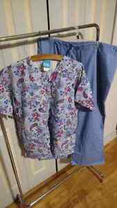 Ladies size large scrubs