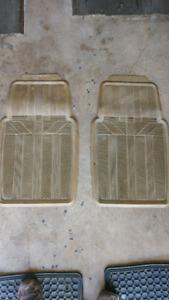 Winter front door mats for truck