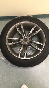Used winter tires with Rims for sale-245/45/r18 Michelin X  ice