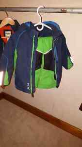 Jupa snow suit blue and green 3t 40$ Kingston Kingston Area image 1