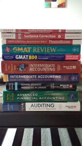Books: GMAT, Financial Accounting, Auditing
