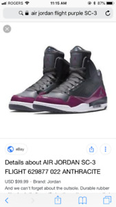 Air Jordan Flight SC-3 high top shoes