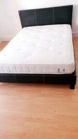 Faux Pas Double Bed & Mattress