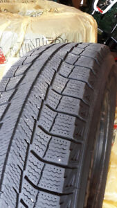 Michelin Winter Tires on Rims- 215/70/R16 - 5 x 115 Bolt Pattern