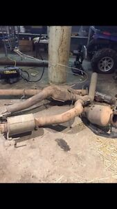 Paying cash for stock diesel exhaust systems