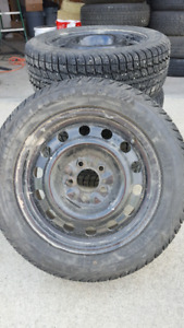 Himalaya WS2 winter tires with rims 205/55R16