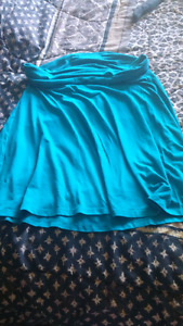 Old navy jersey rollover top skirt