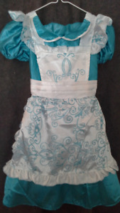 toddler princess dress for dress up. size 3T to 4T. like NEW