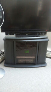 """Corner TV stand Sony with sway top and LCD TV 42"""""""