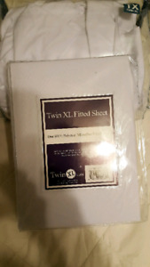 TWIN XL FITTED SHEETS