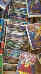 VHS Movies - 6 full boxes 232 movies