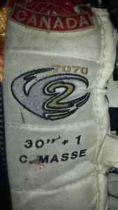 """Custom 30""""+1 Vaughn V2 Goalie Pads"""