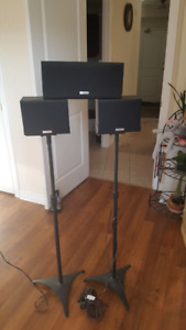 Kenwood Surround Sound Speakers (3)