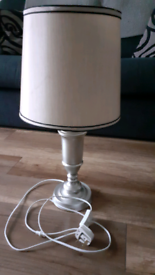 Table and floor lamp set