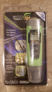 TDS tester (Total dissolved Solids) for hydroponics