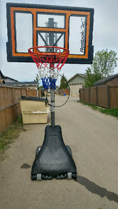 New Reebok Basketball Net adjustable/shatterproof