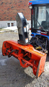 Kubota B2781 Rear Mounted Sub Compact Snowblower
