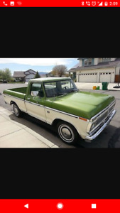 1974 F100 Low mileage Original paint! Parting out or sell whole