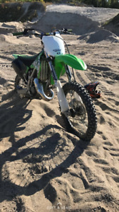 Kx125 2007 forsale with onerships text 271-5813 for more info