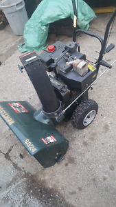 very reliable snow blower