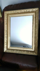 1930s Antique Wall Mirror -  Beautiful Condition