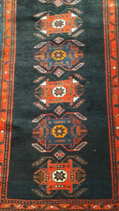 Persian hand made runner