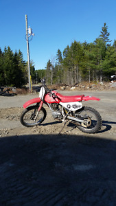 Honda xr100 dirt bike parting out or sell complete
