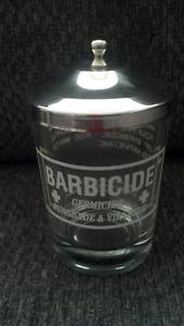 Small Barbicide Jar