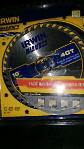 "10"" Irwin Table Saw Blade"