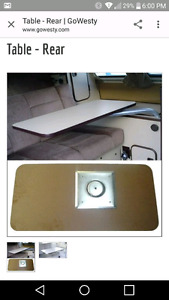 Wanted westfalia rear table