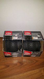 "2 BRAND NEW 27.5"" BICYCLE TIRES"