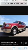 170 kms Ford Expedition Eddie Bauer