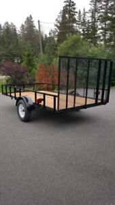 New 6.5 x 12 Utility Trailer  SOLD