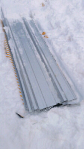 Metal roofing or cladding