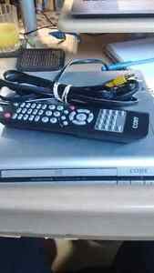 Coby DVD player and remote