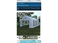 4mx6m gala tent in new condition