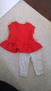 Baby Girl 2-Piece Suit (3-6 months)