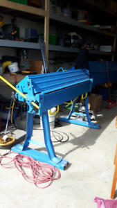 USED SHEET METAL SHOP EQUIPMENT FOR SALE